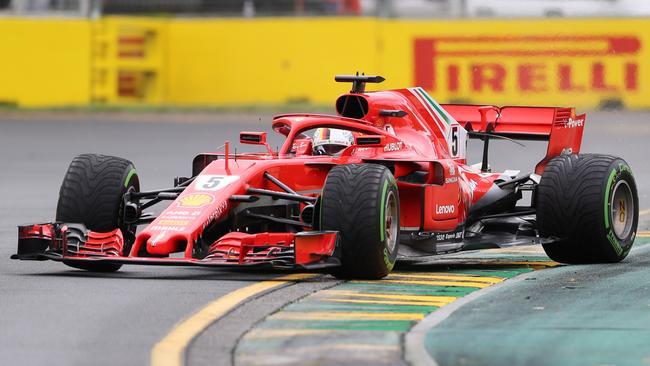 Sebastian Vettel. Pic: Alex Coppel.