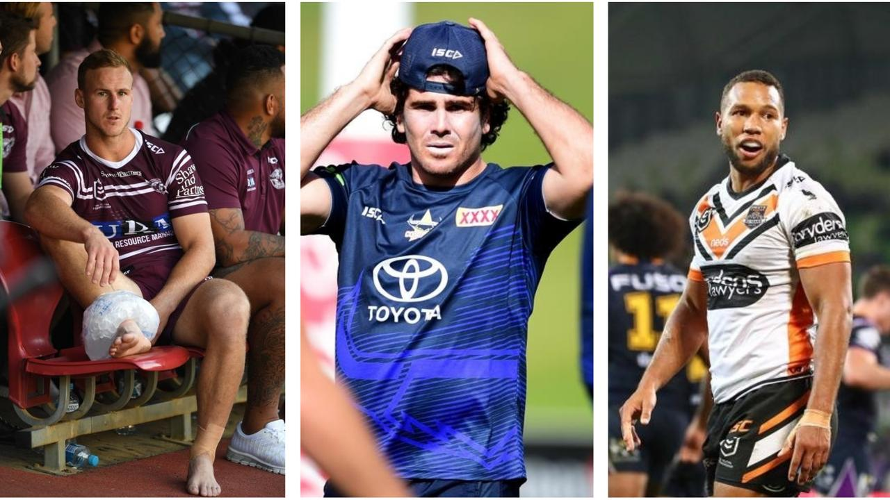 The Maroons are expected to name DCE and four rookies.