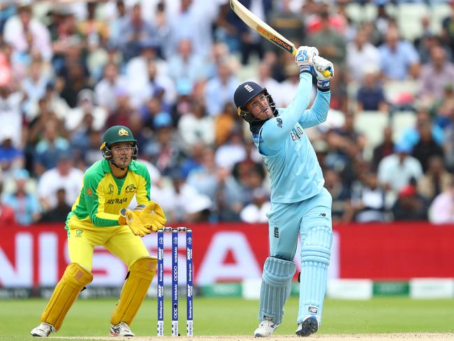 Jason Roy was unstoppable with five sixes.