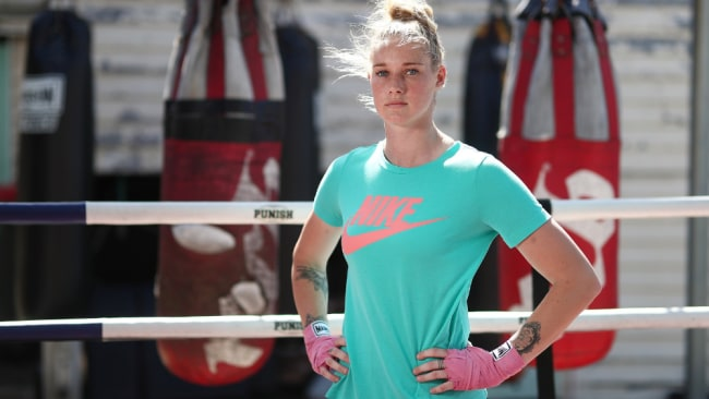 She has also boxed professionally and is a Nike spokeswoman. Image: Chris Hyde/Getty