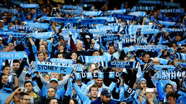 A-League fans will get to see more of the game this year. Picture: Mark Evans