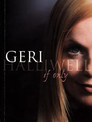 Cover of Geri Halliwell's autobiography, If Only.
