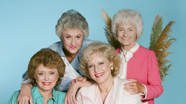 Bea Arthur (top left) couldn't stand Betty White (bottom right). Photo: Ron Tom/NBCU