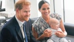 Prince Harry, pictured with wife Meghan Markle and their son Archie, is an outspoken advocate for mental health. Image: Getty Images