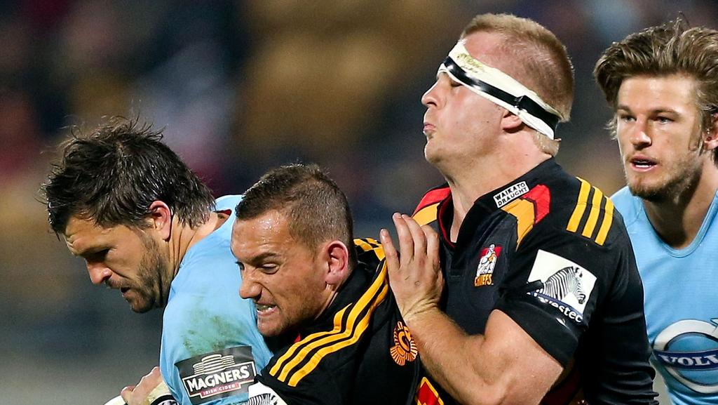 Super Rugby Sam Cane And Aaron Cruden To Be Chiefs Co-Captains  Daily Telegraph-2015