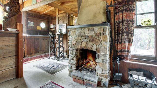 """The home is rustic with a """"good feel to it"""" and liveable as is, though it could be updated."""