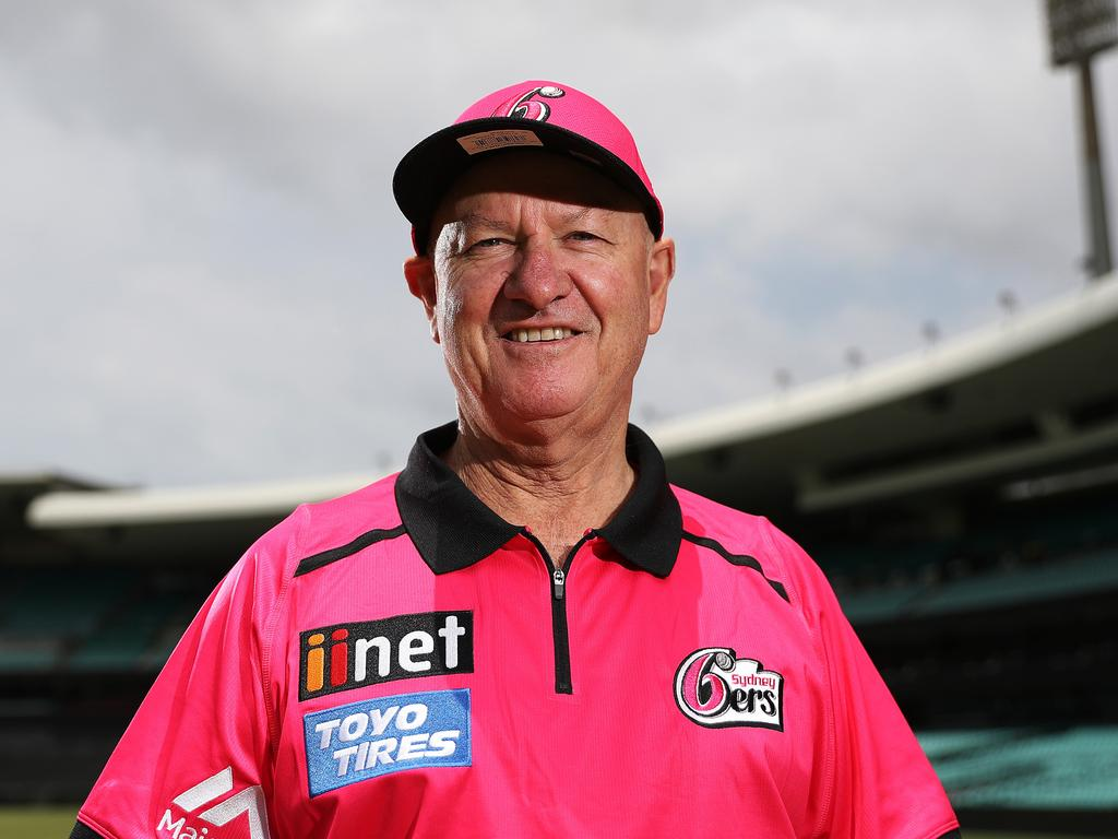 Sixers coach Greg Shipperd has been praised for his leadership of the team during the pandemic-enforced 'bubble' for players and staff. Picture: Brett Costello