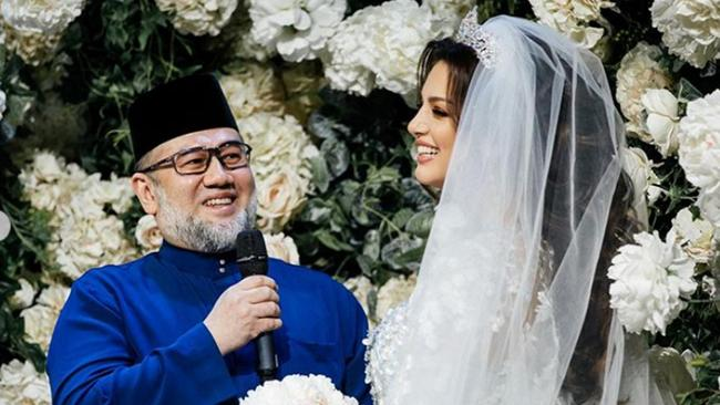 Oksana married her royal husband Muhammad who is 24 years her senior. Picture: East2west News