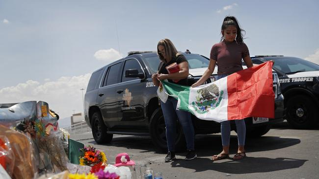El Paso is still in a state of shock. Picture: AP Photo/John Locher