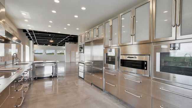 Among the features Sutton installed is a high-end kitchen. Picture: Vizzi Media Solutions/New York Post