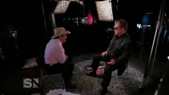 Elton John says Madonna is a 'nightmare' in interview with Molly Meldrum