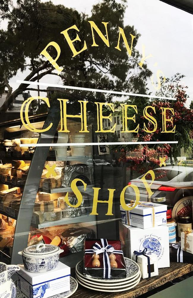 Pennys Cheese Shop can be found in a laneway in Sydney's eastern suburbs.