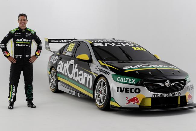 Lowndes' new Autobarn Lowndes Racing Holden.