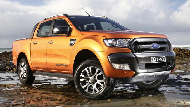 The Ford Ranger has been the second best selling vehicle in the country for a number of years. Picture: Supplied