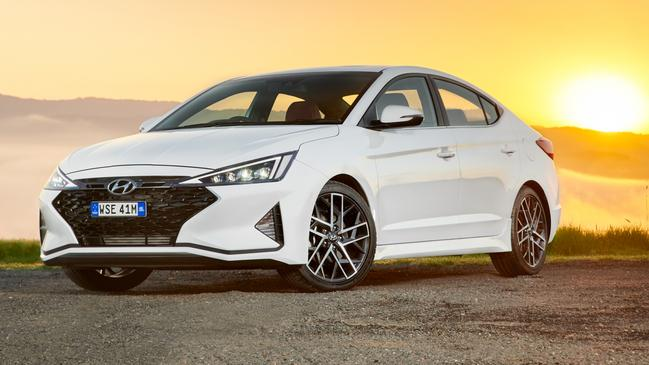 Hyundai has added some character to its Elantra sedan.
