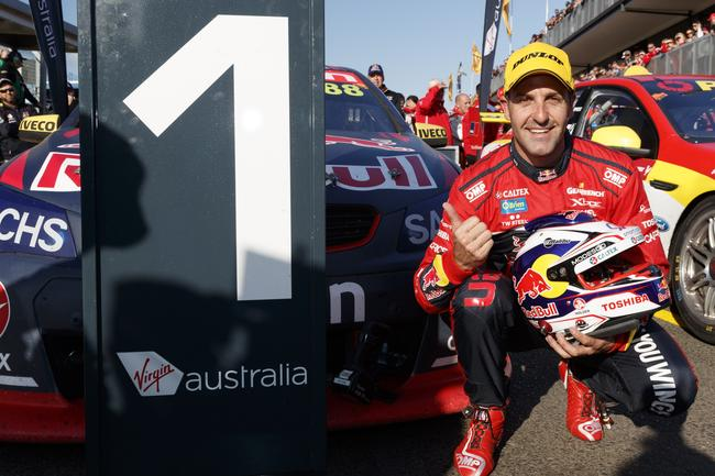 Whincup took the record for most race wins at SMP in 2017.