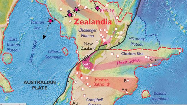 New Zealand Must See Map.Zealandia Eighth Continent Under New Zealand Should Be A Thing