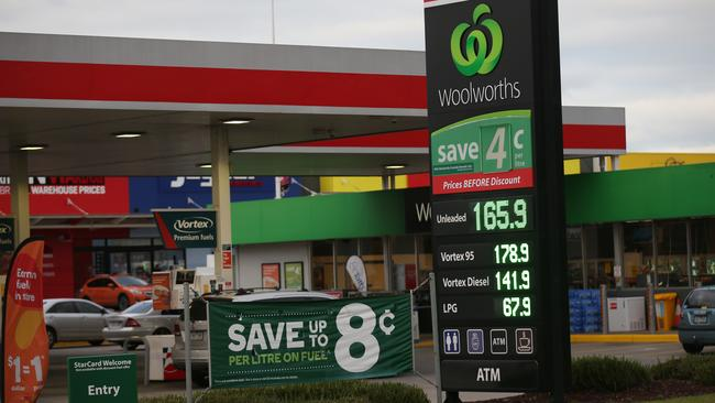 You're right, fuel prices have been high. Picture: David Crosling