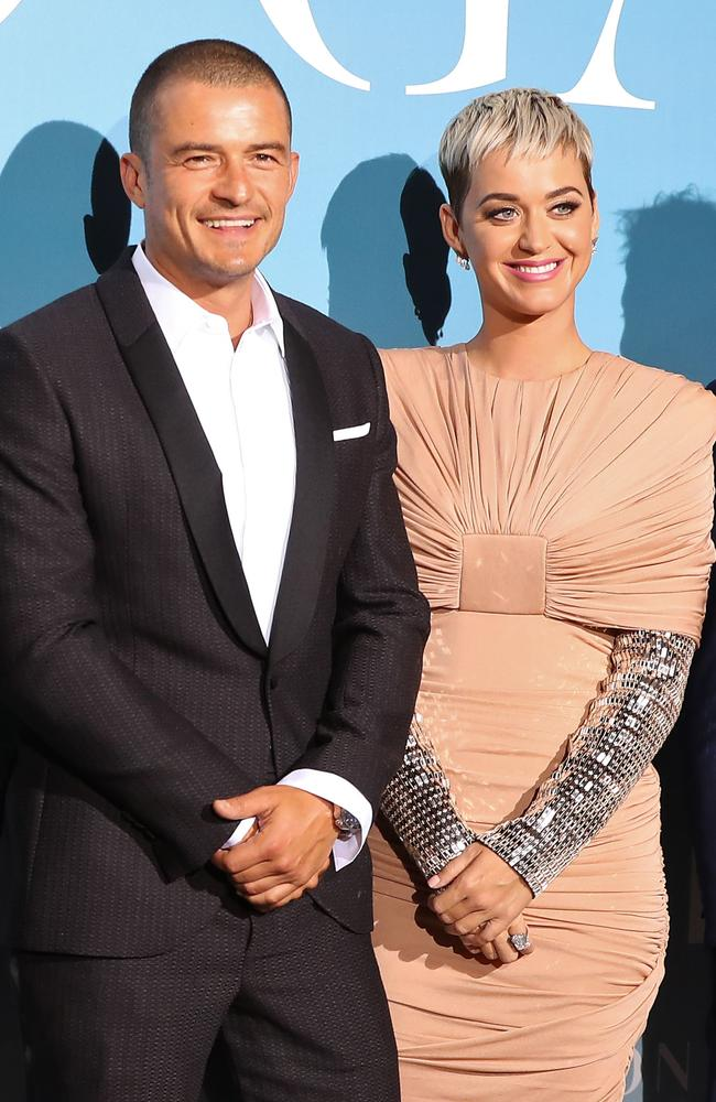Orlando Bloom and Katy Perry met in the best way. Picture: Valery Hache/AFP