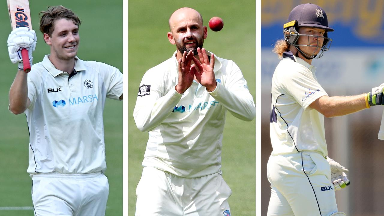 Cameron Green, Nathan Lyon and Will Pucovski have all been stand-out performers this Sheffield Shield season.