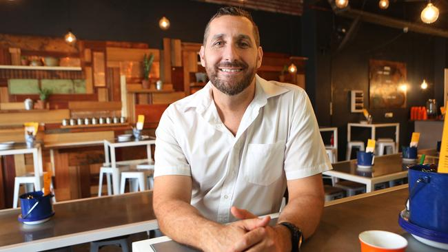 Top chef Attila Yilmaz, of Pazar Food Collective in Sydney's southwest, has hit back at a customer over their 'extreme' request. Picture: Bob Barker