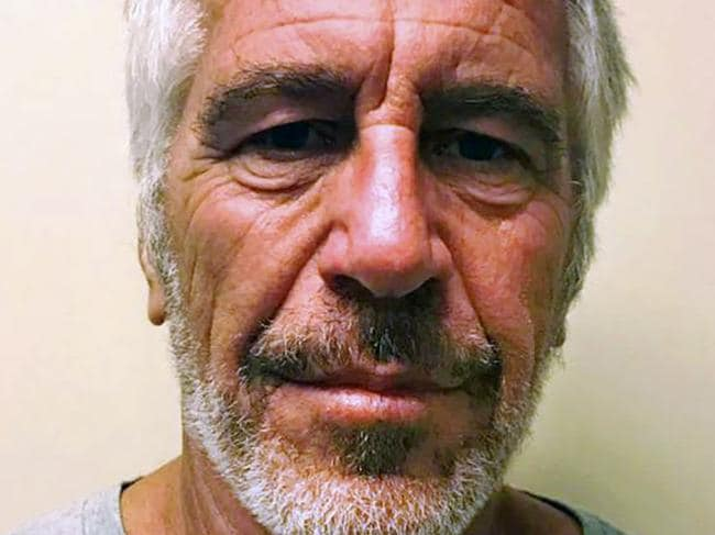 Jeffrey Epstein. Picture: HO/New York State Sex Offender Registry/AFP