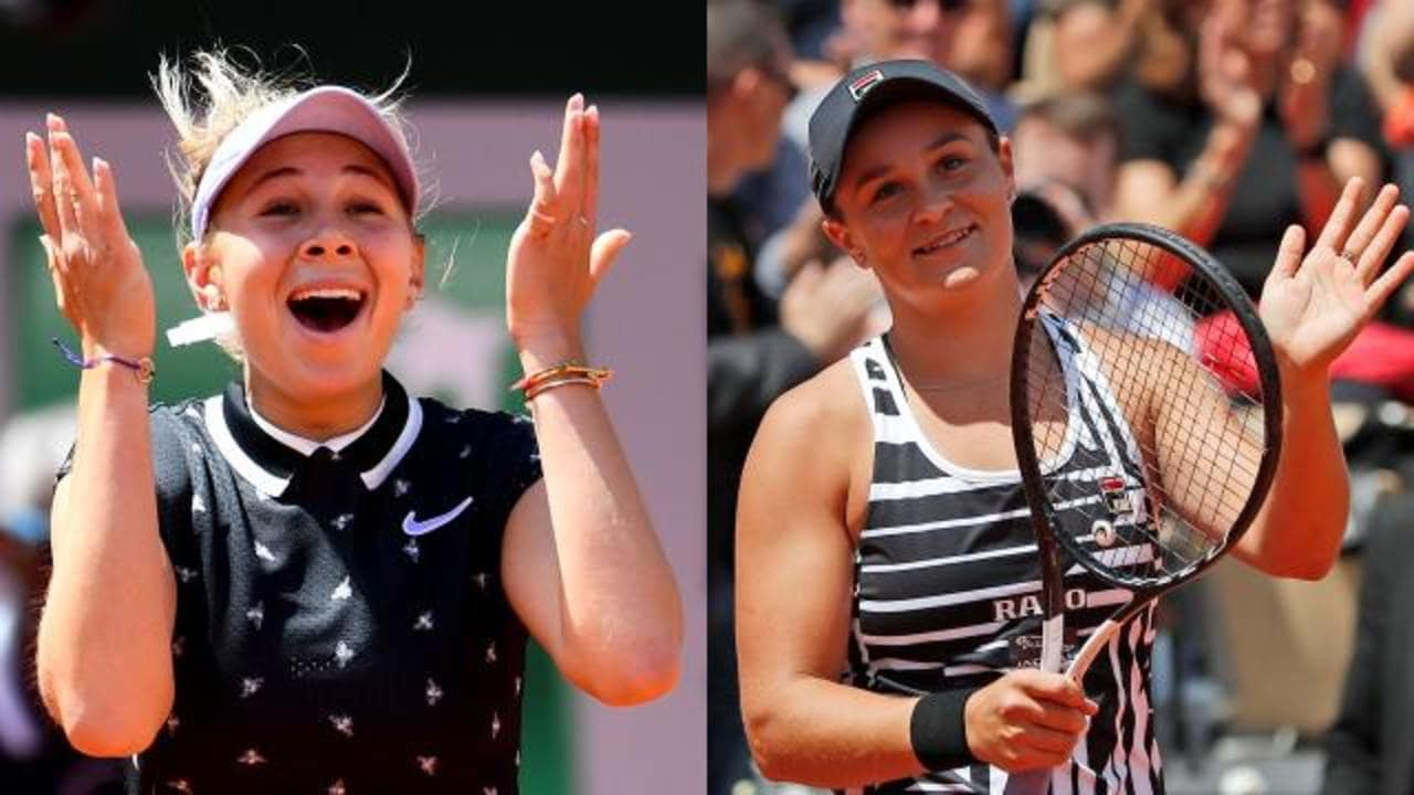 Barty sets up surprise semi
