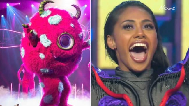 Paulini lets slip who one of the Masked Singers is