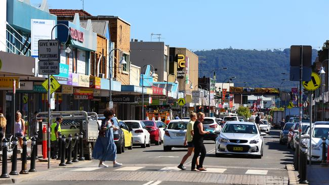 Penrith: 'A super-slum notorious for its population of feral housos, yobbos and other ruffians'. Picture: AAP/Angelo Velardo