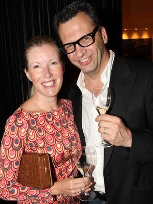 David with his wife Jennie.