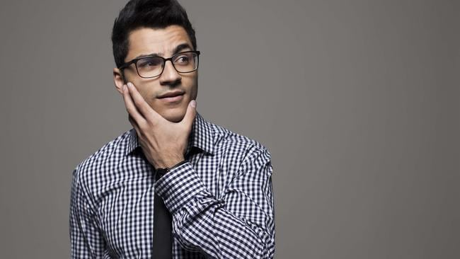 Stand-up comedian Khaled Khalafalla makes the jump to movies in 2017. Picture: Supplied