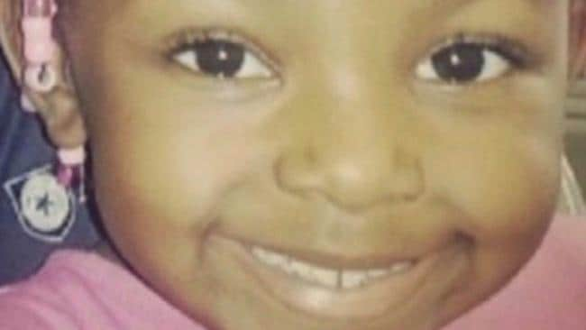 Sanaa Cunningham died age seven. Picture: Supplied