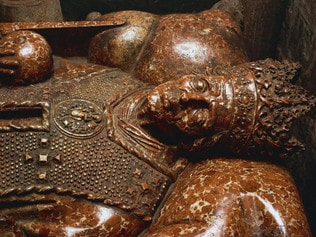 The tomb of King Casimir IV Jagiellon in Krakow, Poland. Picture: Getty Images