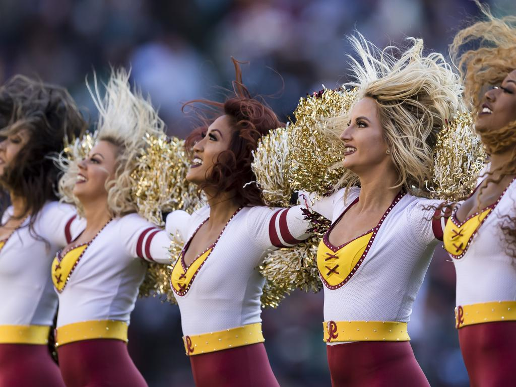 Former WFT cheerleaders are furious over leaked photos.