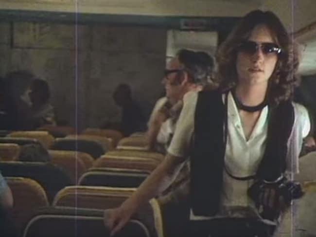 Passengers on board the doomed Air New Zealand Flight 901.