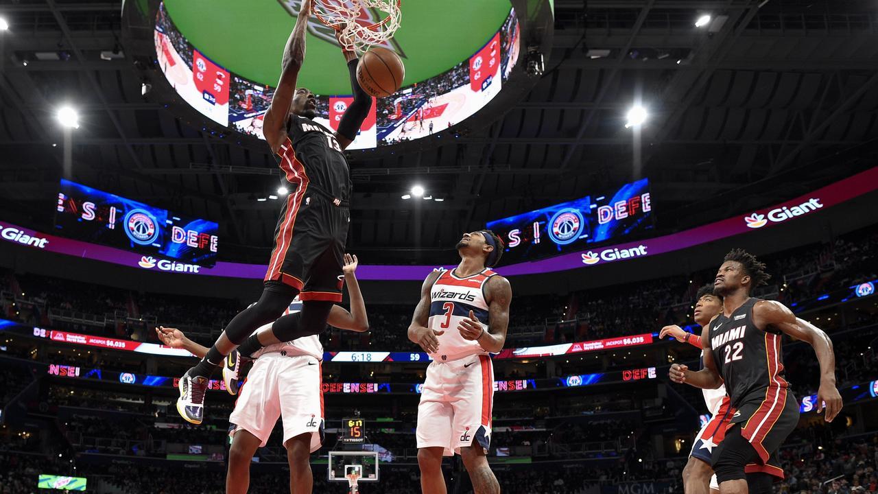 Miami Heat forward Bam Adebayo.
