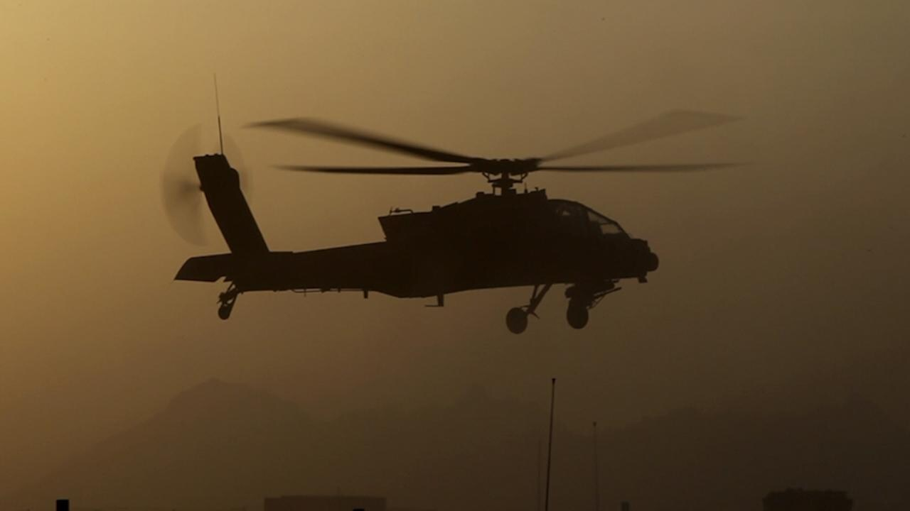 U.S. Military Deploys Apache Helicopters in Fight Against ISIS