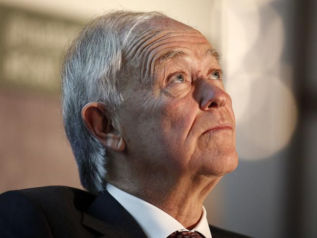 Expressing scepticism ... Tim Clark, president of Emirates Airline. Picture: Simon Dawson/Bloomberg via Getty Images