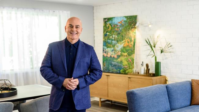 """Neale Whitaker is from team """"Love it"""", encouraging people to renovate. Picture: Foxtel"""