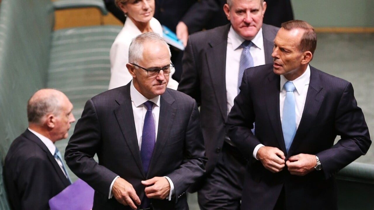 Turnbull's latest swipe at Liberal Party is 'absolutely wrong': Abbott