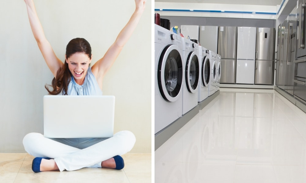 Washing machines are being sold for $1 in the cheapest online sale ever