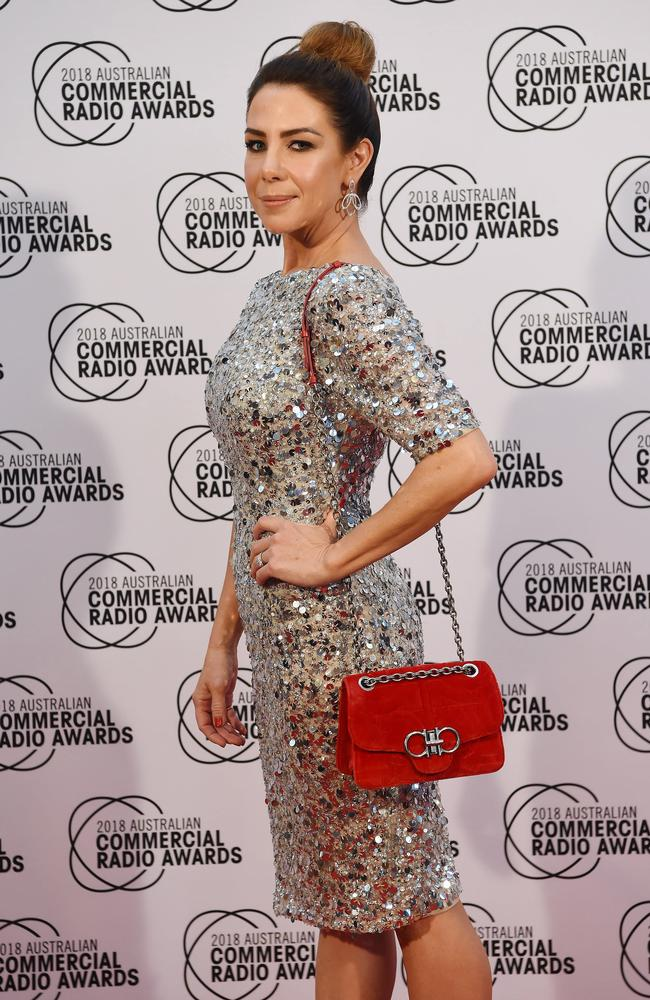 Kate Ritchie shimmered on the ACRA red carpet. Picture: Lawrence Pinder