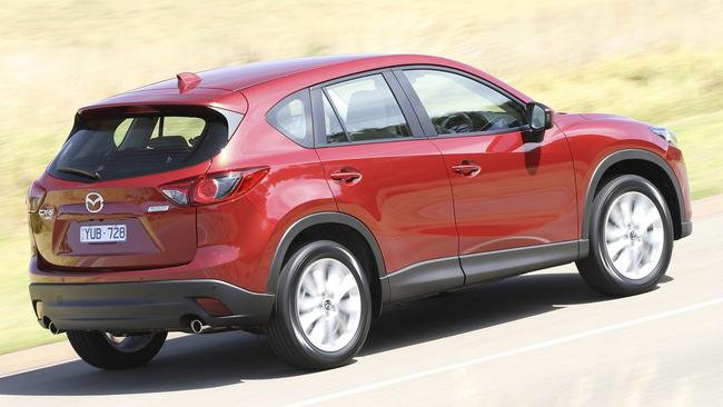 New SkyActiv engines made the CX-5 fuel efficient.