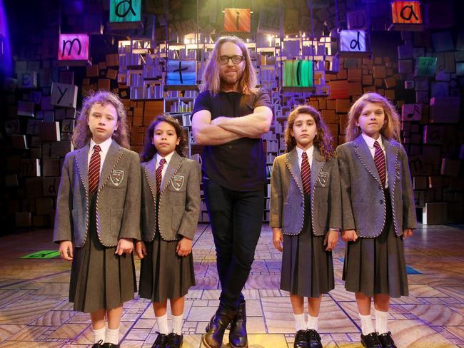 Minchin is best known for co-creating Matilda the Musical.