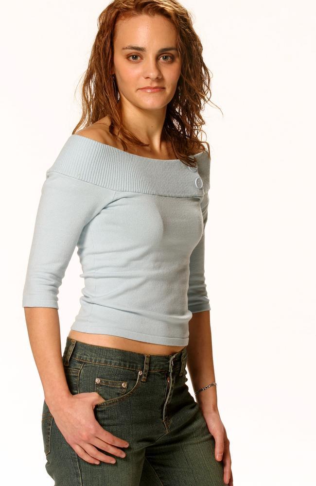 """AUGUST, 2003 : Cosima De Vito, then a semi finalist on the hit TV show """"Australian Idol""""."""