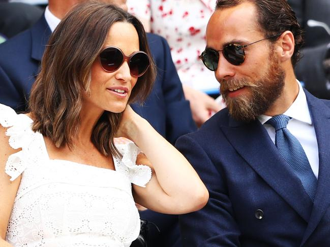 Pippa Middleton and James Middleton often hang out in public together. Picture: Getty