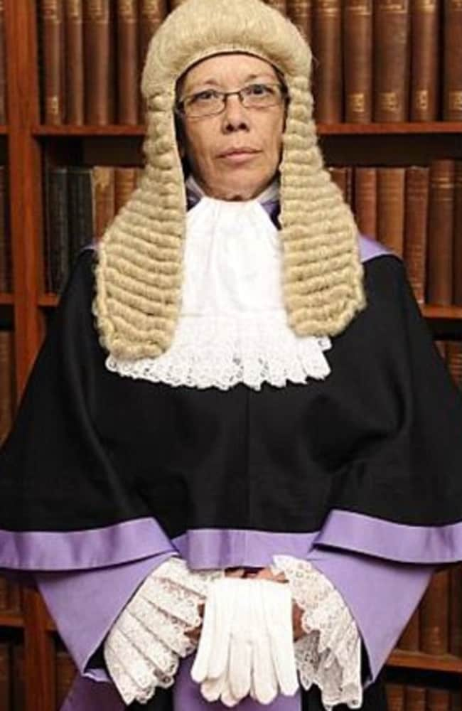 Patricia Lynch QC stunned the courtroom by telling the racist thug: 'You're a bit of a c*** yourself'. Picture: David Barrett/Photoshot