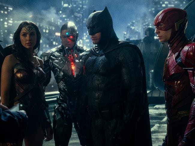 Ben Affleck's Batman and Gad Gadot's Wonder Woman track down new superhero team members Cyborg (Ray Fisher) and The Flash (Ezra Miller).