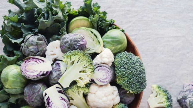 Cabbage, kale, broccoli and other brassica vegetables are high in fibre and gut-friendly. Image: iStock.
