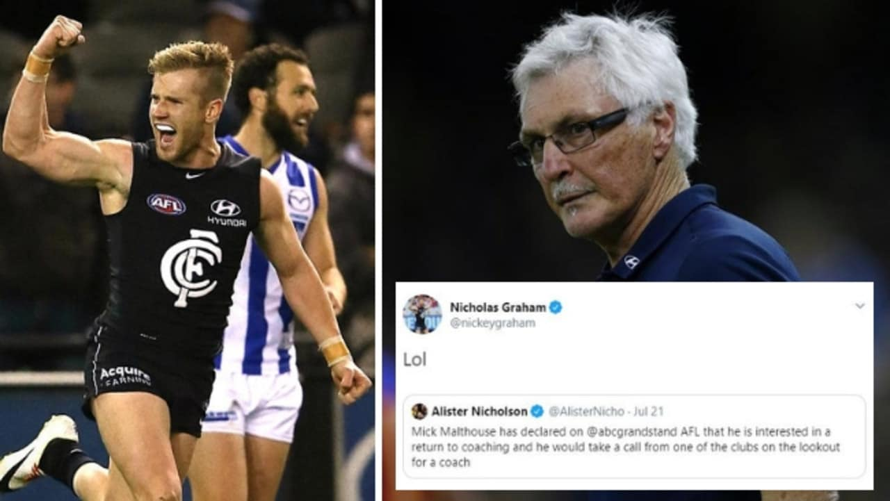 Mick Malthouse to coach again? Mark Robinson on AFL legend's